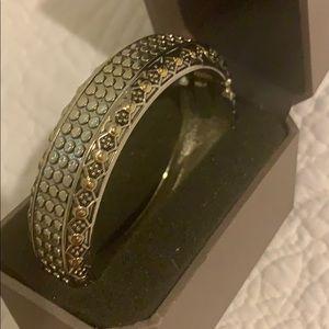 Cute gold & silver bangle from Dillard's